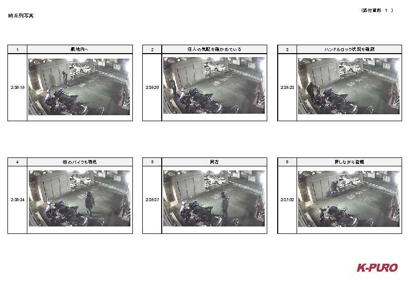 【事例2】バイク盗